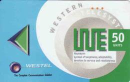 Ghana Westel 50 Units - Ghana