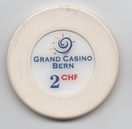 Jeton De Casino : Grand Casino Bern Berne Suisse 2 CHF - Casino