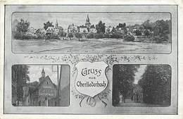 Pays Div-ref J577- Allemagne -germany - Gruss Aus Oberliederbach  - Carte Bon Etat - - Sin Clasificación
