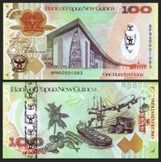 Papua New Guinea 100 Kina 2008 35th Ann. P 37 UNC - Papouasie-Nouvelle-Guinée