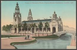 Palace Of Women's Work, Franco-British Exhibition, 1908 - Valentine's Postcard - Exhibitions