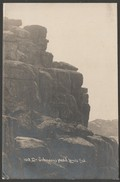 Dr Johnson's Head, Land's End, Cornwall, C.1924 - RP Postcard - Land's End