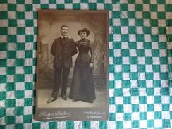 Photo  Couple- Prosper Batier A Limoges - Photos