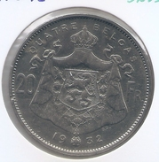 ALBERT I * 20 Frank / 4 Belga 1932 Frans  Pos B * Nr 9239 - 11. 20 Francs & 4 Belgas