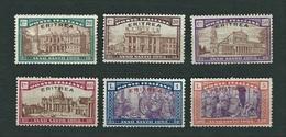 """ERITREA1925 - Anno Santo, Soprastampati """"Eritrea"""" - 6 Valori - MH - Sa: IT-ER 87-92 - Eritrea"""