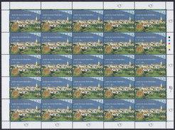 Slovenia 1995 Radovljica - 500th Anniversary Sheet Of 25, MNH (**) Michel 119 - Slovénie