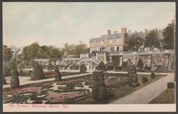 The Terrace, Balcarres House, Colinsburgh, Fife, C.1910 - Cameron Postcard - Fife