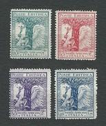 ERITREA1928 - Pro Società Africana D'Italia - 4 Valori - MH - Sa: IT-ER 132-35 - Eritrea