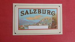Authentic Turn Of Century Cigar Label On Postcard  Ybor City  Fl    Salzburg  Ref  2595 - Publicidad