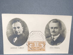 BRÉSIL - Carte Maximum En 1933 De Vargas Et Pessôa - L 8194 - Maximum Cards