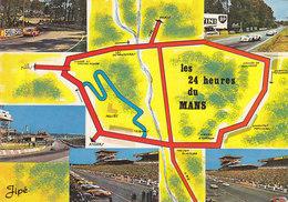 CPSM - GF - LE MANS - Circuit Des 24 Heures Du Mans (postée D'Arnage) - Le Mans