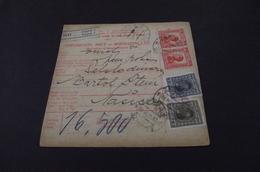 231. Parcel -Sprovodni List Nasice-Zagreb - 1919-1929 Kingdom Of Serbs, Croats And Slovenes