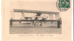 Salon ;: Aérodrome De La Crau  Avec Un Biplan 1910 - Salon De Provence