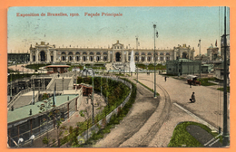 Bruxelles. Exposition Universelle De 1910. Façade Principale. 1910 - Expositions Universelles