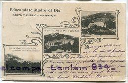 - Impériea - Porto Maurizio - Via Nizza, Multi Vues, 3 Vues, Peu Courante,pour Maziéres, écrite, Scans. - Imperia