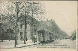 69 - Lyon - Tramways De Caluire - Boulevard De La Croix Rousse - Autres
