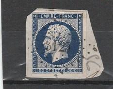 Drôme - PC3125 - Saint Jean En Royans Sur N°14A Bleu-noir - Storia Postale (Francobolli Sciolti)