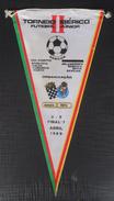 FOOTBALL TURNIR, BOAVISTA CELTA CORUNHA PORTO BELENENSES BENFICA BETIS SEVILHA , OLD PENNANT, SPORTS FLAG - Apparel, Souvenirs & Other
