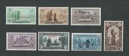 ERITREA1931 - VII Centenario Della Morte Di Sant'Antonio - 7 Valori - MH - Sa: IT-ER 188-94 - Eritrea