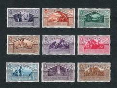 ERITREA1930 - Bimillenario Della Nascita Di Virgilio - 9 Valori - MH - Sa: IT-ER 179-87 - Eritrea