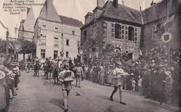 Carte 1931 AUBIGNY / FETES FRANCO ECOSSAISES / CORTEGE HISTORIQUE - Aubigny Sur Nere