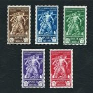 ERITREA 1930 - Pro Istituto Agricolo Coloniale Italiano - 5 Valori - MH - Sa: IT-ER 174-78 - Eritrea