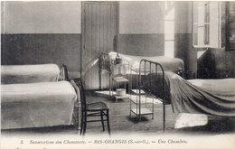 RIS ORANGIS - Sanatorium Des Cheminots - Une Chambre   (97183) - Ris Orangis