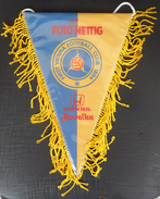 First Vienna FC AUSTRIA FOOTBALL CLUB, SOCCER / FUTBOL / CALCIO OLD PENNANT, SPORTS FLAG - Apparel, Souvenirs & Other