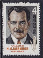 4018. Russia, USSR, 1977, Nikolai Ivanovich Vavilov, MNH (**) Michel 4590 - 1923-1991 USSR