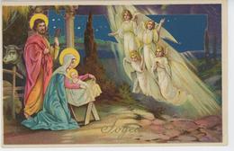 """ENFANTS - Jolie Carte Fantaisie Anges Et Enfant Jésus De """"Joyeux Noël"""" - HWB 5532 - Noël"""