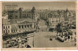 Brussel, Bruxelles, La Porte De Namur, Tram, Tramway, Tramways (pk35180) - Places, Squares