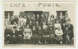 69  CHAMELET  Groupe De Femmes . Photo Format CPA (9x14) Prise Devant Le Café De La Poste (voir Descriptions) - France