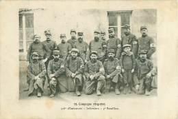 Militaire .n° 33150. 318 Eme D Infanterie Infirmiers 5eme Bataillon - Oorlog 1914-18