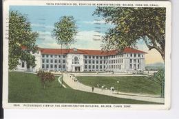 CPAS Panama, Balboa, Zona Del Canal, Edificio De Administracion 1936 - Panama