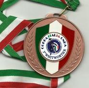 Italia - Medaglia Gara Di Tiro A Segno - Italia