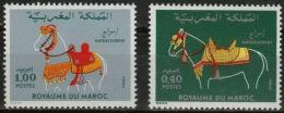 Maroc 0858/859 ** Serie Completa. 1980 - Morocco (1956-...)
