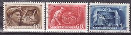 HUNGARY 1950 Mi 1117-1119 USED - Gebraucht