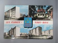 CPA PHOTO 78 LES CLAYES SOUS BOIS MULTI VUES - Les Clayes Sous Bois