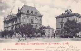 ALTE AK   KORNEUBURG / NÖ  - Erzherzog Albrecht Kaserne -  1899 Gelaufen - Korneuburg
