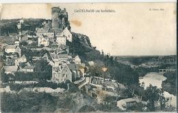 CASTELNAUD   (  En  Sarladais  )      ( 24 )      Vue  Générale      ( Tachée )  ** - Frankreich
