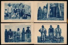 4 CPA  NOORD AMERIKA - ALASKA - ESKIMO'S - LOOK SCAN - Otros