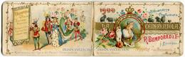 CALENDARIETTO ALMANACCO PROFUMATO CENERENTOLA EDITORE R. BEMPORAD ANNO 1900 CALENDRIER PARFUMEE WALT DISNEY - Calendari
