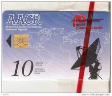 TARJETA CON CHIP DE LA REPUBLICA DOMINICANA DE AACR (NUEVA-MINT) - Dominicana