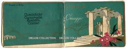 CALENDARIETTO CIOCCOLATO UNICA TORINO ANNO 1926 LIBERTY CHOCOLAT - Calendari