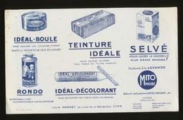 Buvard - Teinture IDEAL - Buvards, Protège-cahiers Illustrés