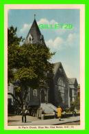 CAPE BRETON, NOVA SCOTIA - ST PAUL'S CHURCH, GLACE BAY - ANIMATED - PECO - - Cape Breton