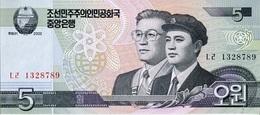 Corea Del Norte 2002, 5 Won (**) UNC - CF3008 - Corea Del Norte
