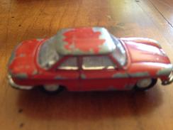 """NOREV 1/86   """" Panhard  24 CT """" Rouge - Toy Memorabilia"""