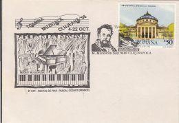 61022- MODEST MUSSORGSKI, COMPOSER, CLUJ NAPOCA MUSIC FESTIVAL, SPECIAL COVER, 1996, ROMANIA - Music