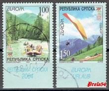 Bosnia  Srpska – EUROPA 2004 Used - Bosnia And Herzegovina